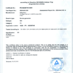 XAFER Certificado P1 módulo B