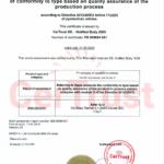 XAFER Certificado P1 módulo D