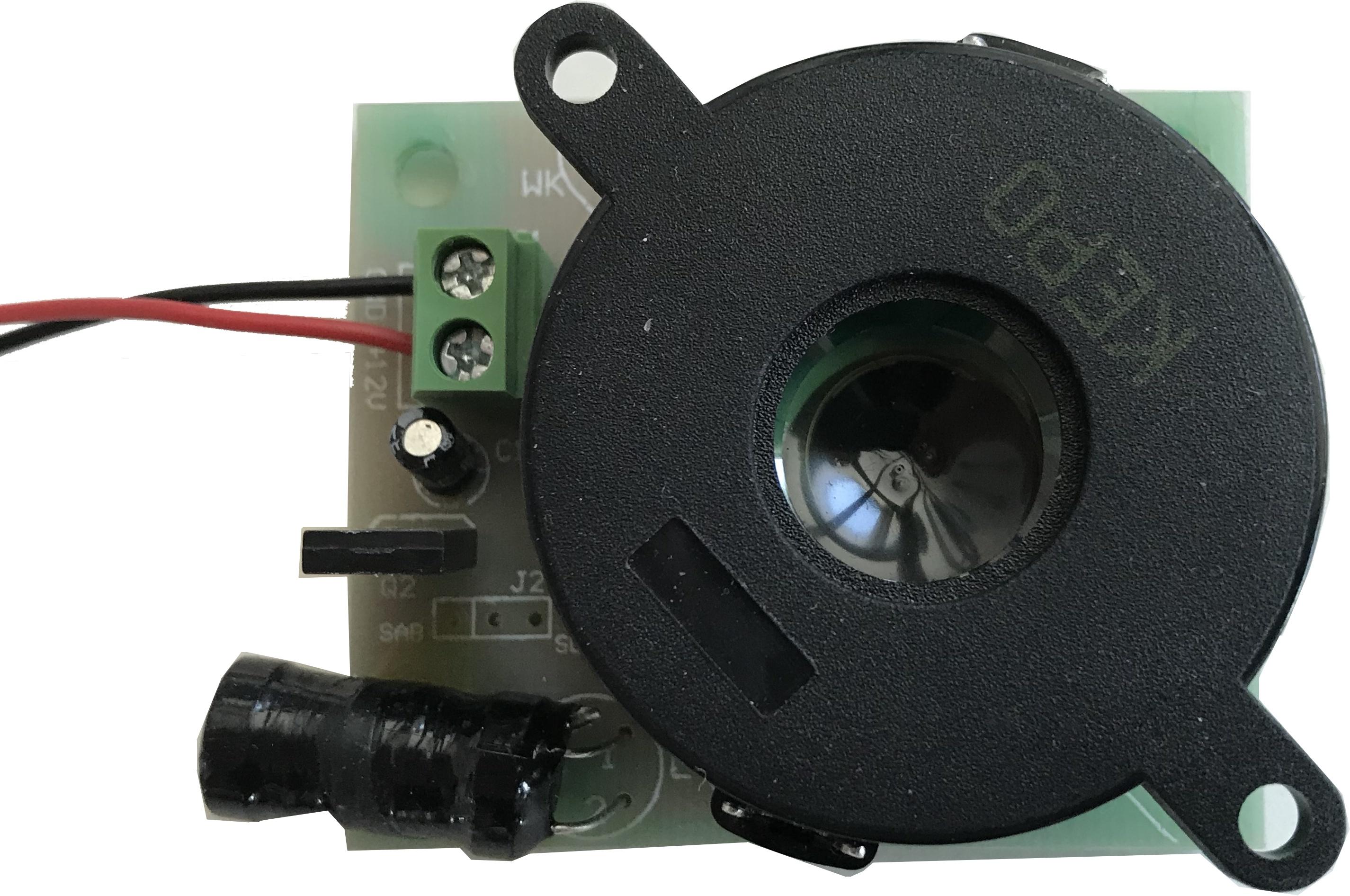 Internal siren for security smoke screen device NUBI 4.0