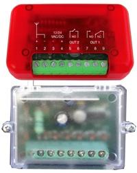 Smoke screen security device wireless kit